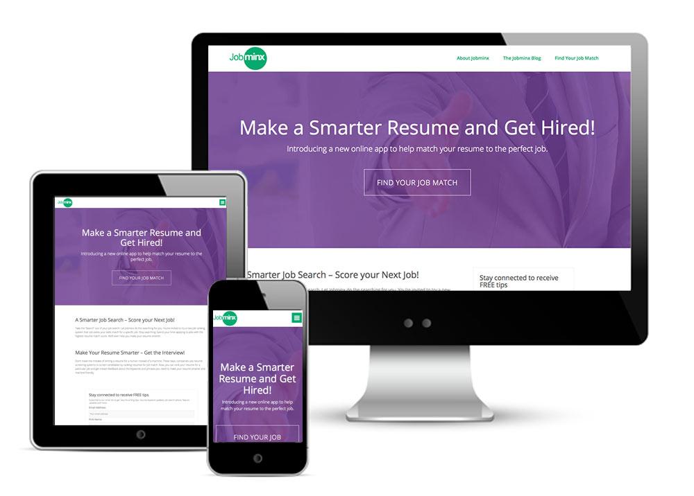 Jobminx.com Response Web Site